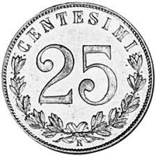 25 Centesimi