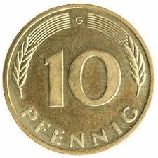 10 Pfennigs