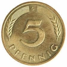 5 Pfennigs