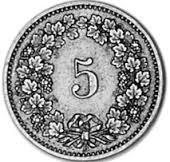 5 Rappen