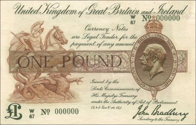 one pound notes