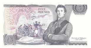 five pound banknotes